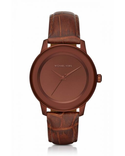 Michael kors mk2457 kinley copper brown leather strap womens michael kors mk2457 kinley copper brown leather strap womens watch gumiabroncs Gallery