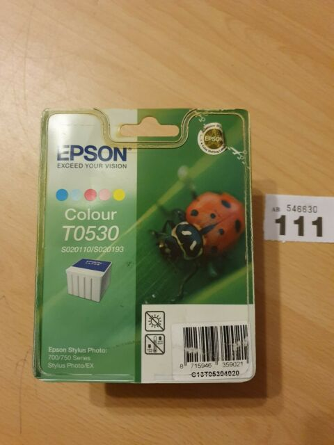 ORIGINAL GENUINE EPSON T053 COLOUR INK CARTRIDGE (S020110/S020193) new old stock
