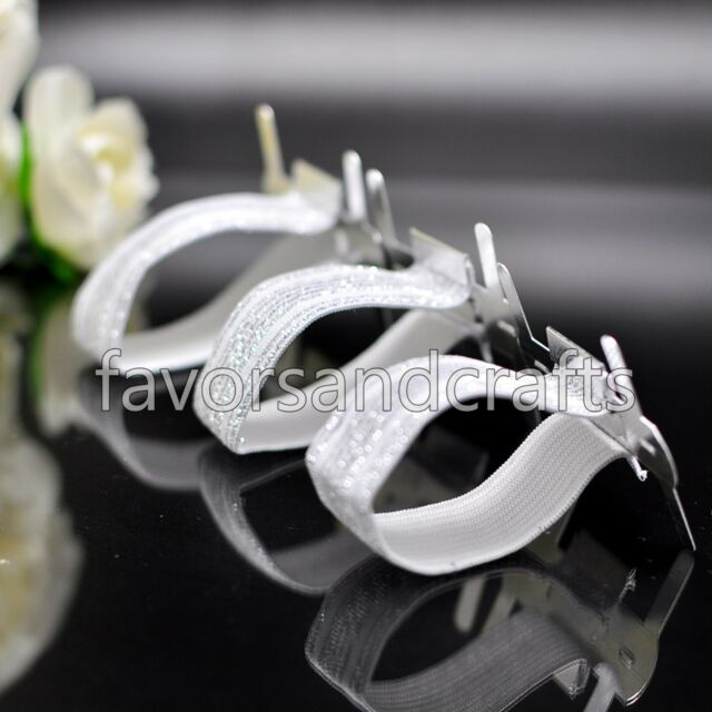 12 PCS Corsage Wristlet Band Supplies Floral Wristbands Elastic Flower Holder