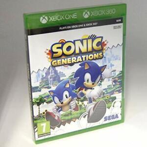 Sonic Generations Xbox One And Xbox 360 5055277021338 Ebay