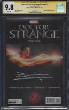 Marvel's Doctor Strange Prelude #1__CGC 9.8 SS__Signed by Benedict Cumberbatch