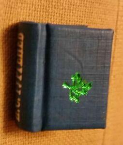 Details Sur Russe Francais Micro Mini 1 Livre Ivan Turgenev Souvenir Cadeau Miniature Book