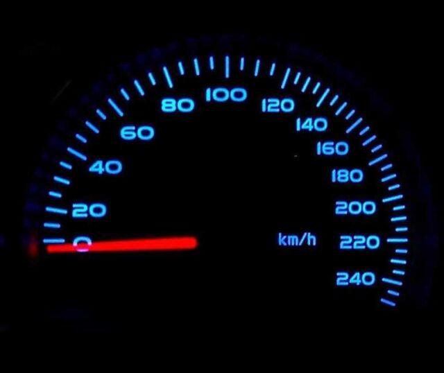 Led Azul Salpicadero Velocímetro Kit de Iluminación Recambio para Renault 5 R5