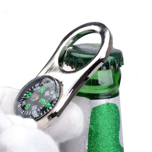 Bier Wein Schlüssel Muster Flaschenöffner Kompass Schlüsselanhänger form Bar
