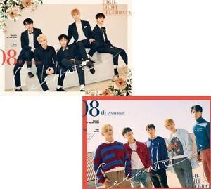 HIGHLIGHT-Celebrate-2nd-Mini-Album-2SET-Ver-Booklet-Photocard-Message-Card-KPOP