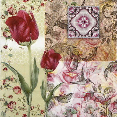 4x Paper Napkins for Decoupage Decopatch Craft Maude