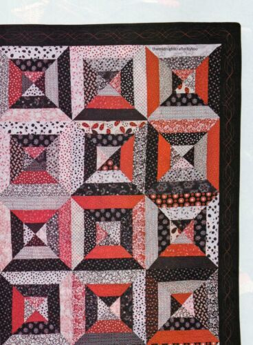 Yikes Stripes Quilt Pattern Pieced CE