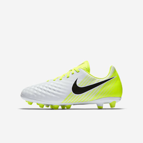 White Black Nike Junior Magista Opus II AG-Pro Volt