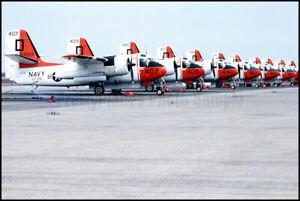 USN-Grumman-S-2-Trackers-VT-28-NAS-Alameda-1978-8x12-Aircraft-Photos