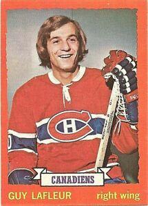1973-74-Topps-Hockey-Guy-Lafleur-Montreal-Canadiens-Card-72