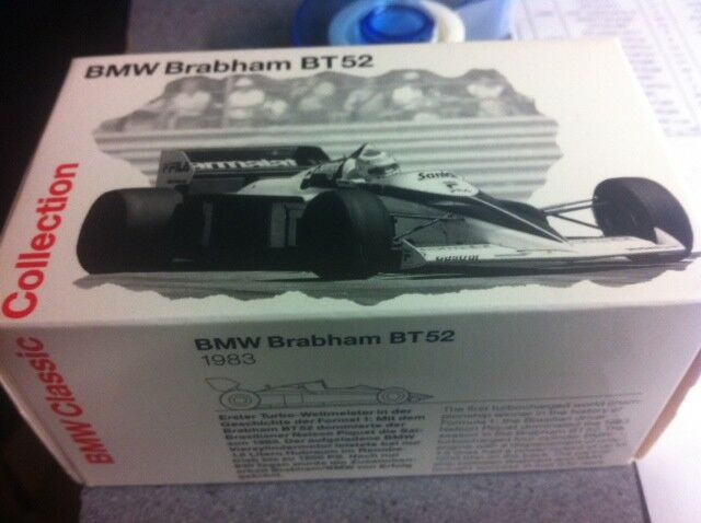 BRABHAM BMW BT52 NELSON PIQUET 1983 WORLD CHAMPION BMW BOX