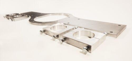 Atlas Axle WORKS SPEC 12mm Dural Alloy Brace /& Clamps Standard Tube Axle