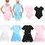 Girls-Ballet-Dance-Wear-Kids-Gym-Sports-Outfit-Leotard-Dress-Gymnastics-Costume thumbnail 2