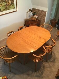 Image Is Loading 1960 Mid Century Modern Conant Ball Dining Table