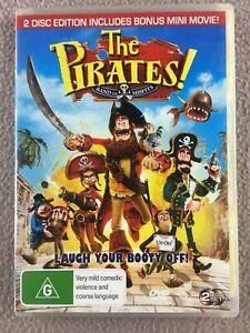 The-Pirates-Band-Of-Misfits-DVD-2-Disc-2012-Hugh-Grant-Bonus-Mini-Movie