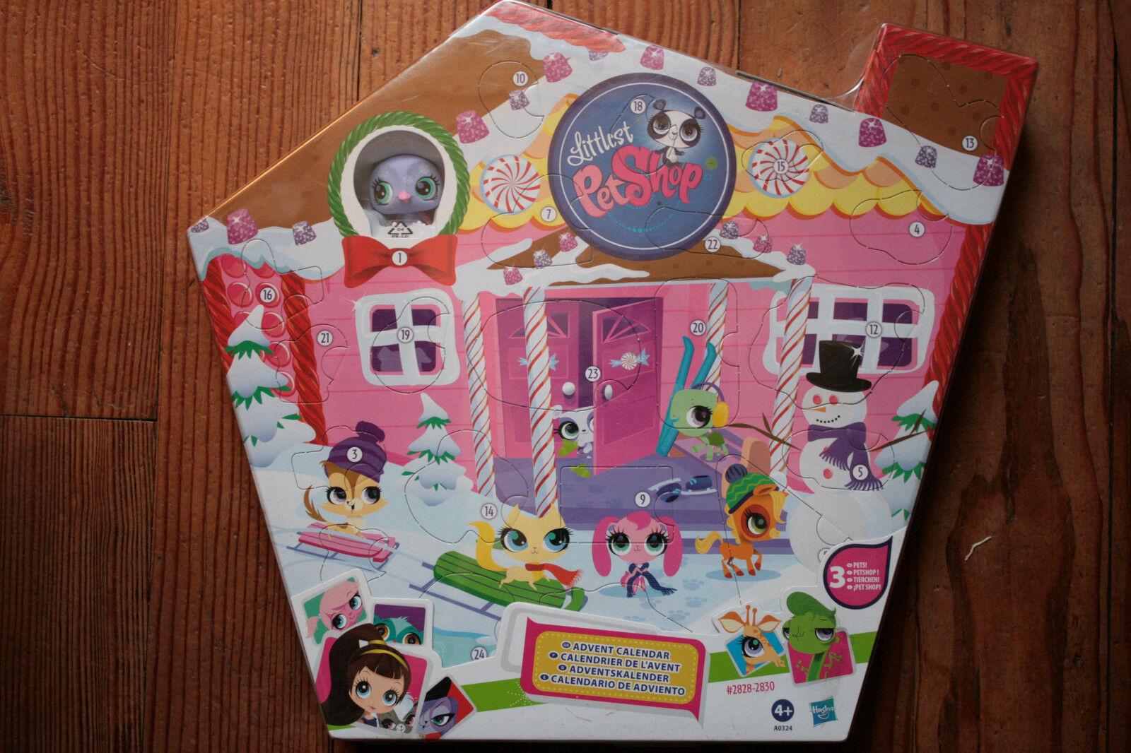 Hasbro - LITTLEST Petshop - Kalender Advent mit 3 Maskottchen  2828-2830