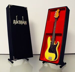 Gerry-McAvoy-Rory-Gallagher-Fender-Precision-Guitar-Miniature-UK-Seller