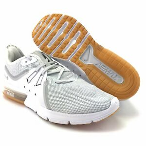 Detalles acerca de Nike Para Hombre Air Max Sequent 3 Blanco Puro Platino Calzado para Correr Talla 8 mostrar tÃtulo original