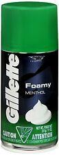 Gillette Foamy Shaving Cream Menthol 11 oz