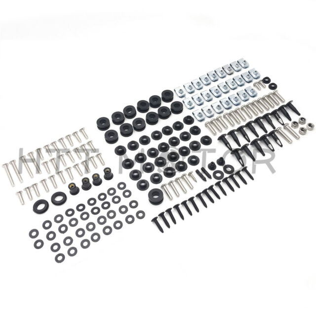 Yamaha YZF R6 03 04 05 Motorcycle Fairing Bolt Kit Complete Screws and Fasteners kit R-6 2003 2004 2005 CaliBikerClub 5559091226
