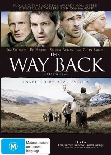 1 of 1 - The Way Back (DVD, 2011)*R4*terrific Condition*Colin Farrell*Ed Harris