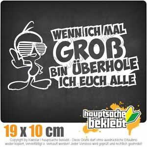 KIWISTAR-Wenn-ich-large-bin-Design-2-csf0842-19-x-10-cm-JDM-Sticker-Decal