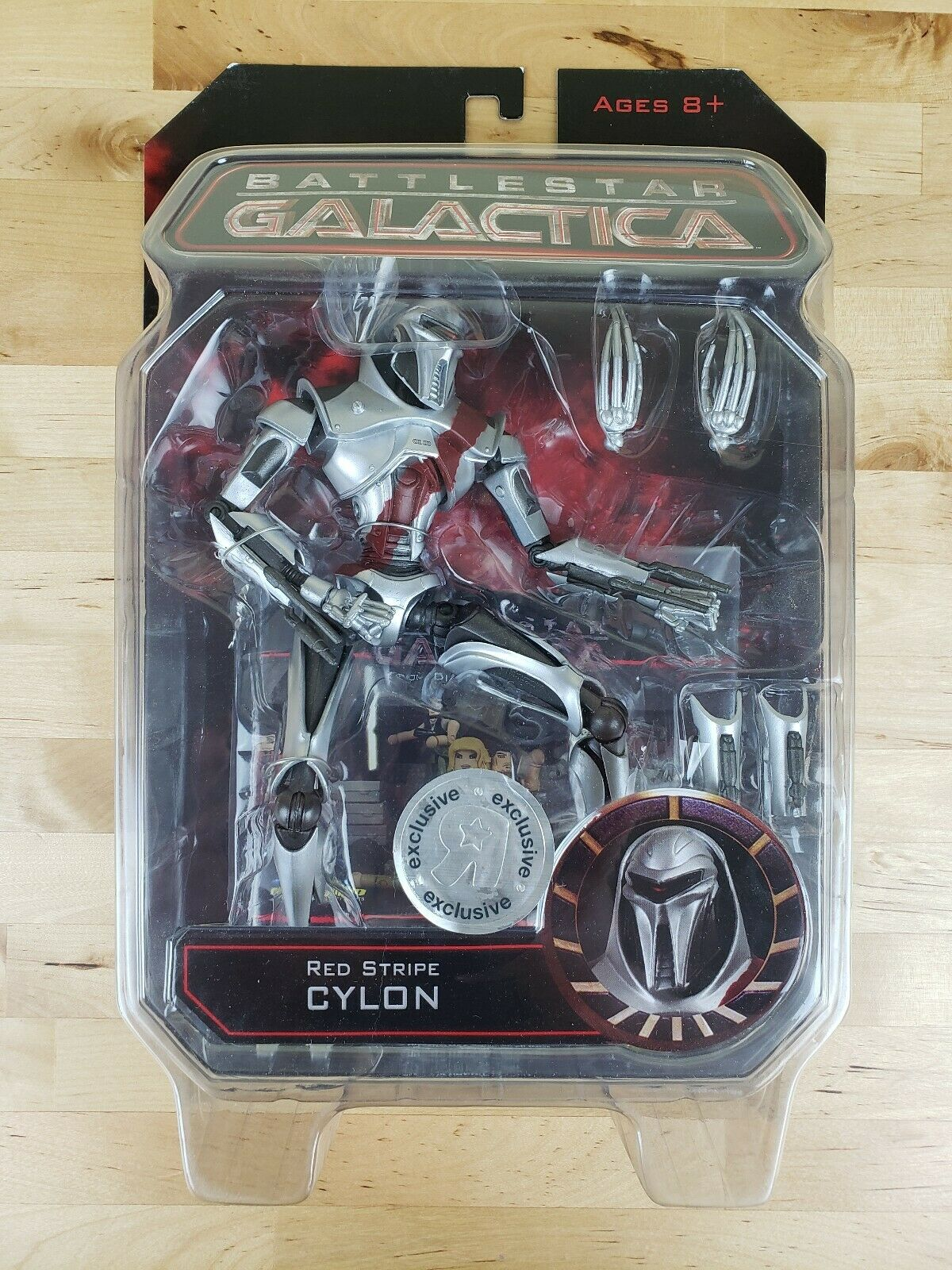 Battlestar Galactica rot Stripe Cylon Toys R Us Exclusive Diamond Select Action
