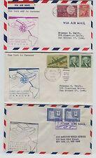 4 1959 First Flight Pan Am  Jet Clipper New York to Caracas FAM5 Postal Cover UN