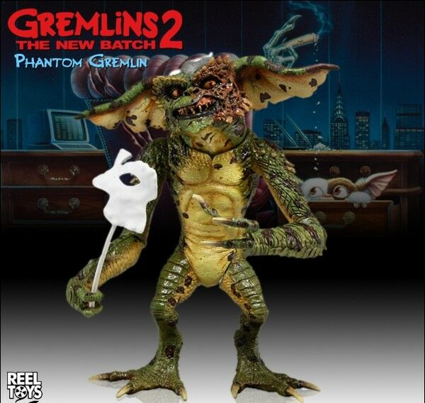 """NECA-Ultimate Gamer Gremlins Gremlin 7/"""" acción figura."""