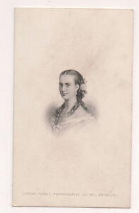 Vintage-CDV-Princess-Alexandra-of-Denmark-Queen-of-Great-Britain-Ghemar-Freres