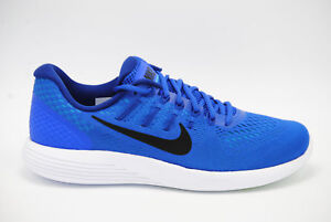 Nike Lunarglide 8 Running Shoes Racer Blue Black AA8676 400 Men s ... 8d1df974d6d