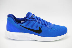 save off baad0 57d44 Image is loading Nike-Lunarglide-8-Running-Shoes-Racer-Blue-Black-