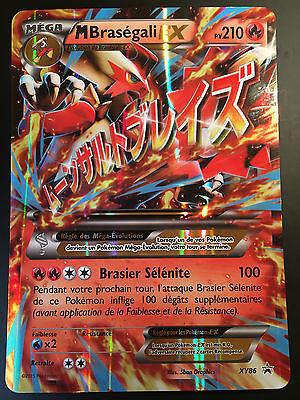 carte pokemon ex mega Pokemon card m brasegali xy86 holo jumbo mega ex french nine | eBay