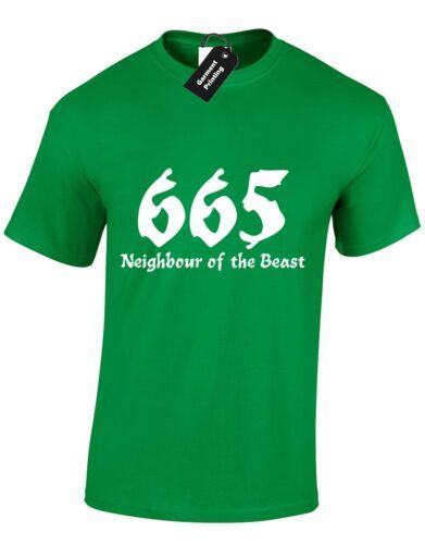 665 MENS TSHIRT FUNNY HUMOUR IDEAL PRESENT GIFT SATAN DEVIL PREMIUM OCCULT