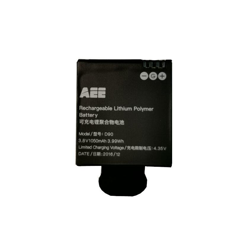 D90 - New Original 1050mAh 3.8V Battery Batteria for AEE D90 S90 S91B Lyfe