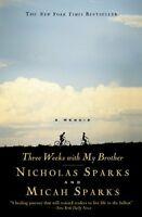Three Weeks With My Brother By Nicholas Sparks, (paperback), Grand Central Publi on sale