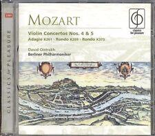 MOZART - Violin Concertos 4 & 5 / Adagio / 2 Rondos - David OISTRAKH