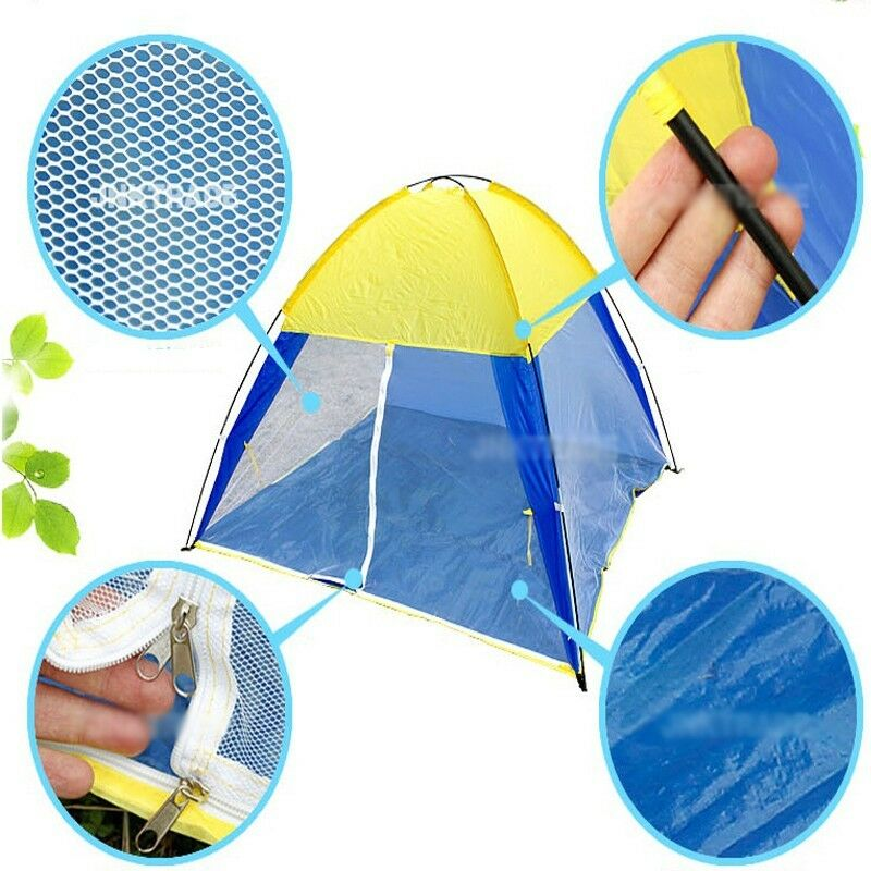 5person Sun Shade Mosquito Net Canopy Tent Beach Fishing Leisure Camping Shelter