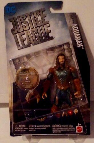 DC Comics Justice League Aquaman with Logo Plate New MISB