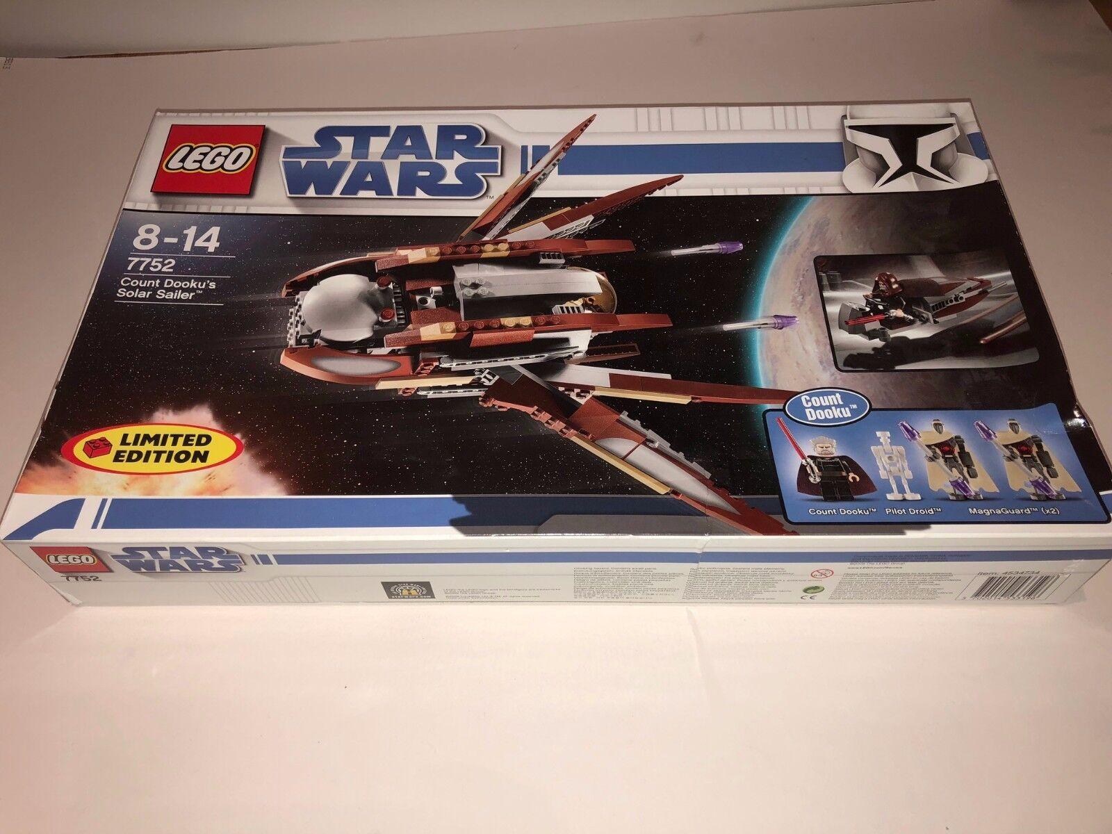 LEGO Star Wars Count Dooku's Solar Sailer 7752 - Factory Sealed BNIB