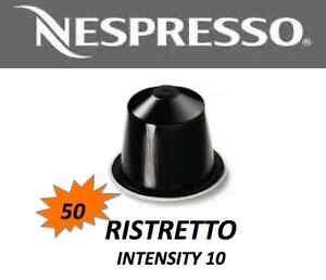 STOCKUP-SPECIAL-50-Ristretto-Nespresso-Capsule-BNIB-WHILE-STOCK-LAST