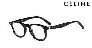 check-out 5ffc2 24c07 Dettagli su Céline Occhiali da vista Frames CL 41404 (807) Nero RRP - £  210- mostra il titolo originale