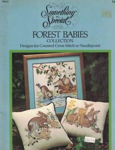 FOREST-BABIES-90013-Fox-Rabbit-Deer-Skunk-Owl-amp-More-OOP-Candamar-Designs