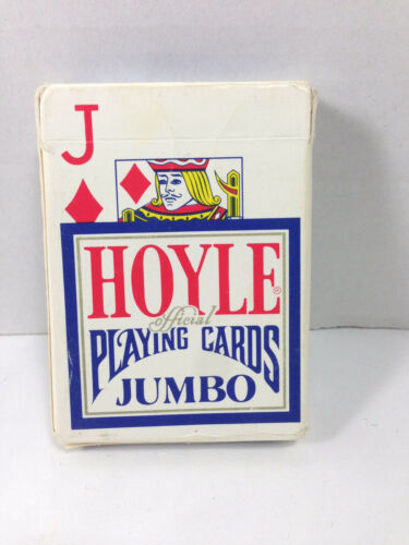 Vintage Collectible Hoyle Jumbo Poker Playing Cards C. 1980