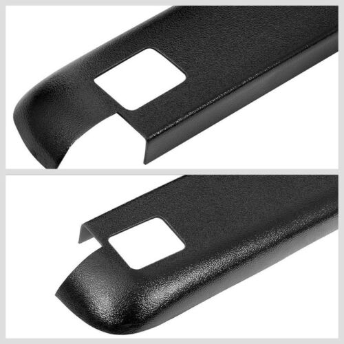 2PCS Truck Bed Cap Rail Protector Cover W//Hole For 80-97 Ford F-350 8Ft Bed