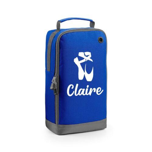 Personalised Name Ballet Dance Shoe Sports Kit Bag School Dance Bag Tap