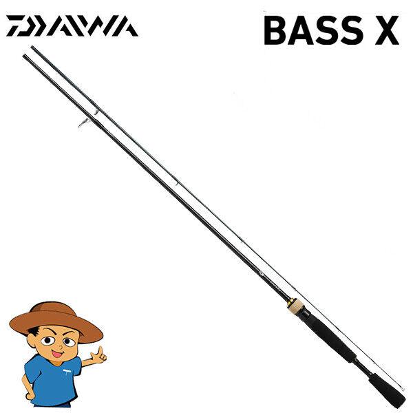 Daiwa bajo X 662LS y Luz Bajo Caña Pesca Giratoria Modelo 2019