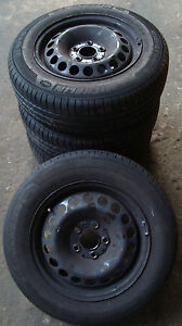 4-Sommerraeder-Mercedes-Benz-195-65-R15-91T-LK-5-x-112-C-Klasse-W204-A2046400002