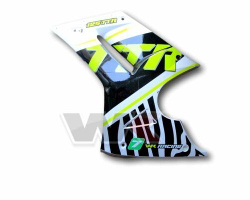 Genuine WK White Knuckle Bikes 125 Sport LH Fairing TTR Zebra