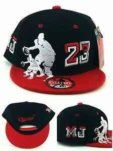 450c8cb7eee32e Chicago New Greatest 23 Youth Kids Jordan Bulls Black Red Era ...